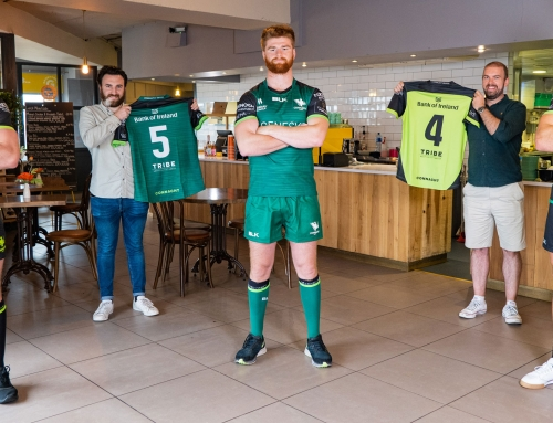 Tribe Hospitality Announce 3 year Jersey Partnership with Connacht Rugby